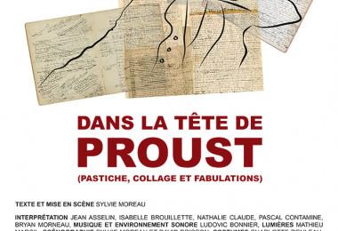 Dans la tête de Proust (pastiche, collage et fabulations) | en tournée... (2018-2019)